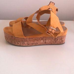 Fashion platform Sandals.
